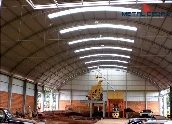 Machadinho - RS - Obras Industriais